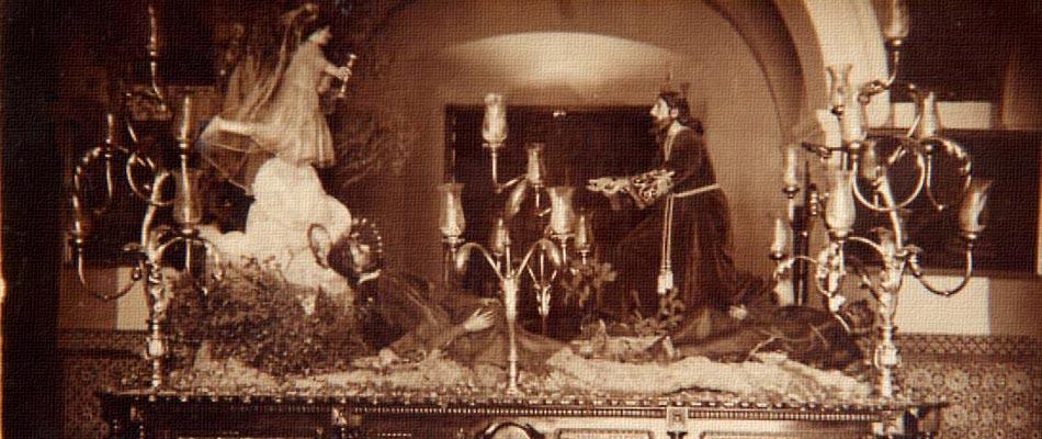 Paso de misterio Oración en el Huerto en el año 1933